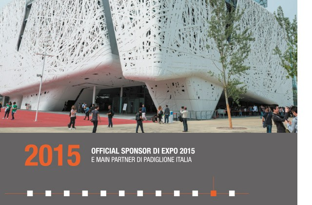 2015 - OFFICIAL SPONSOR DI EXPO 2015