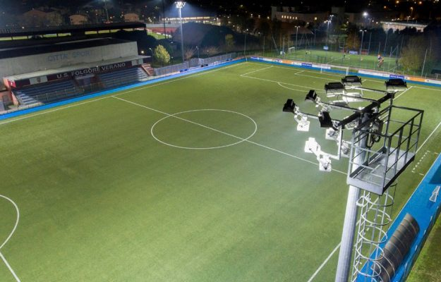 Lighting solutions for professional sports facilities and outdoor areas