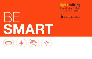 GEWISS AT LIGHT + BUILDING 2018: BE SMART