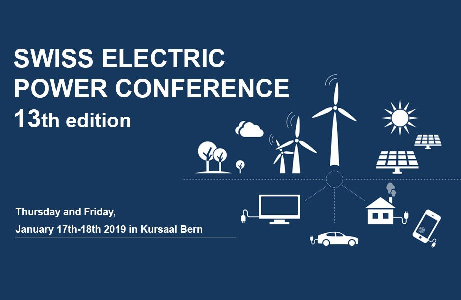 Swiss Electric Power Conference  - 13th edition