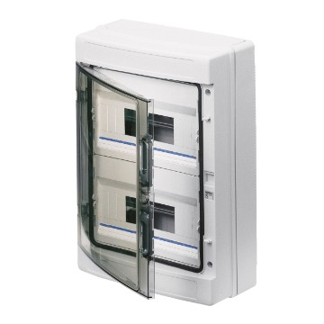 40 CD Range<br />Surface-mounting distribution boards and enclosures