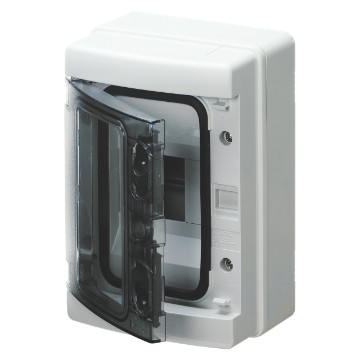 Enclosures - predisposed for terminal block - Grey RAL 7035