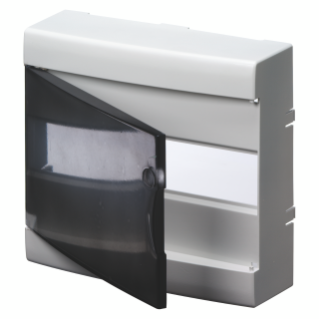 DOOR COLOUR WHITE RAL9016 WITH FRAME FOR FINISHING SUPPORT BASES - IP40 - CLIP FIXING