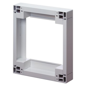 Kit of modular spacers for subscriber enclosures, bases, containers and boards 50mm thick - Clip assembly - White RAL 9016