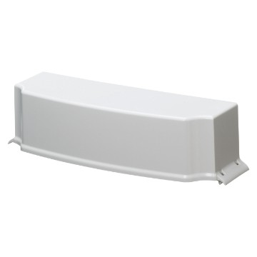 Design coupling cover for conduit and trunking entry for CDK enclosures and boards