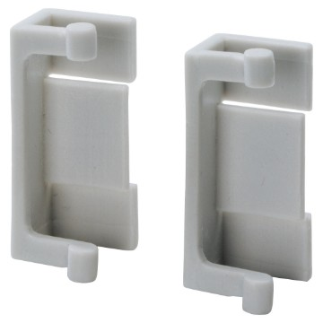 Pair of hinges for front panels