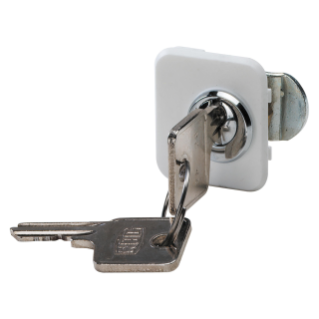 SECURITY LOCK FOR ENCLOSURE FOR PLASTERBOARD WALLS