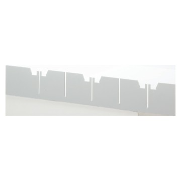 Internal dividers for enclosures for plasterboard walls