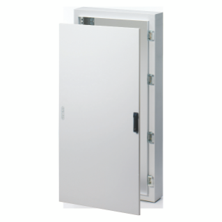 CVX DISTRIBUTION BOARD 160E - SURFACE-MOUNTING - 600x1000x170 - IP65 - SOLID SHEET METAL DOOR  ROD-MECHANISM LOCK -WITH EXTRACTABLE FRAME-GREY RAL7035