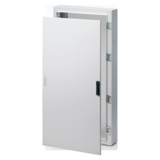 CVX DISTRIBUTION BOARD 160E - SURFACE-MOUNTING - 600x800x170 - IP65 - SOLID SHEET METAL DOOR  ROD-MECHANISM LOCK -WITH EXTRACTABLE FRAME- GREY RAL7035
