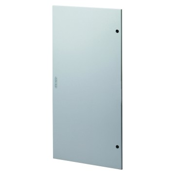 Solid doors in painted sheet metal for IP40 distribution boards