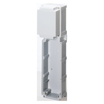 Modular bases for combination mounting of vertical socket-outlets for heavy-duty use - IP66