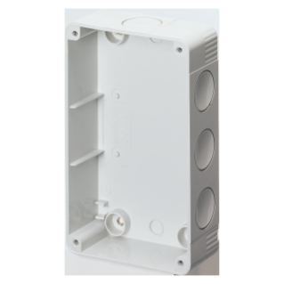BACK MOUNTING BOX FOR PROTECTED AND WATERTIGHT COMPACT FIXED SOCKET OUTLET - IP55