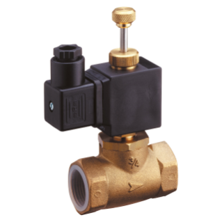 SOLENOID VALVE WITH MANUAL RESET - 230V 50Hz