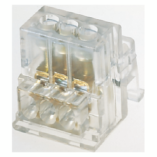 TERMINAL BLOCK WITH INDIRECT SCREW TIGHTENING - 2X16+9X6MM²