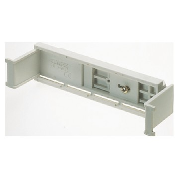 Rail for fixing equipotential terminal blocks in the PTC modular flush- mounting boxes