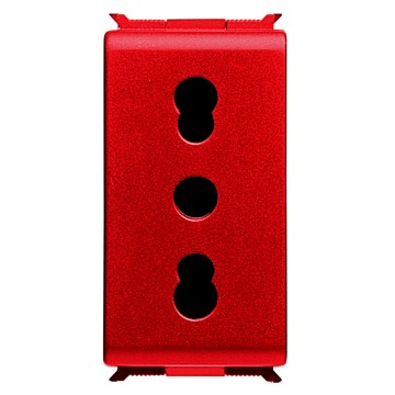 Italian Standard socket-outlets for dedicated lines - 250V ac