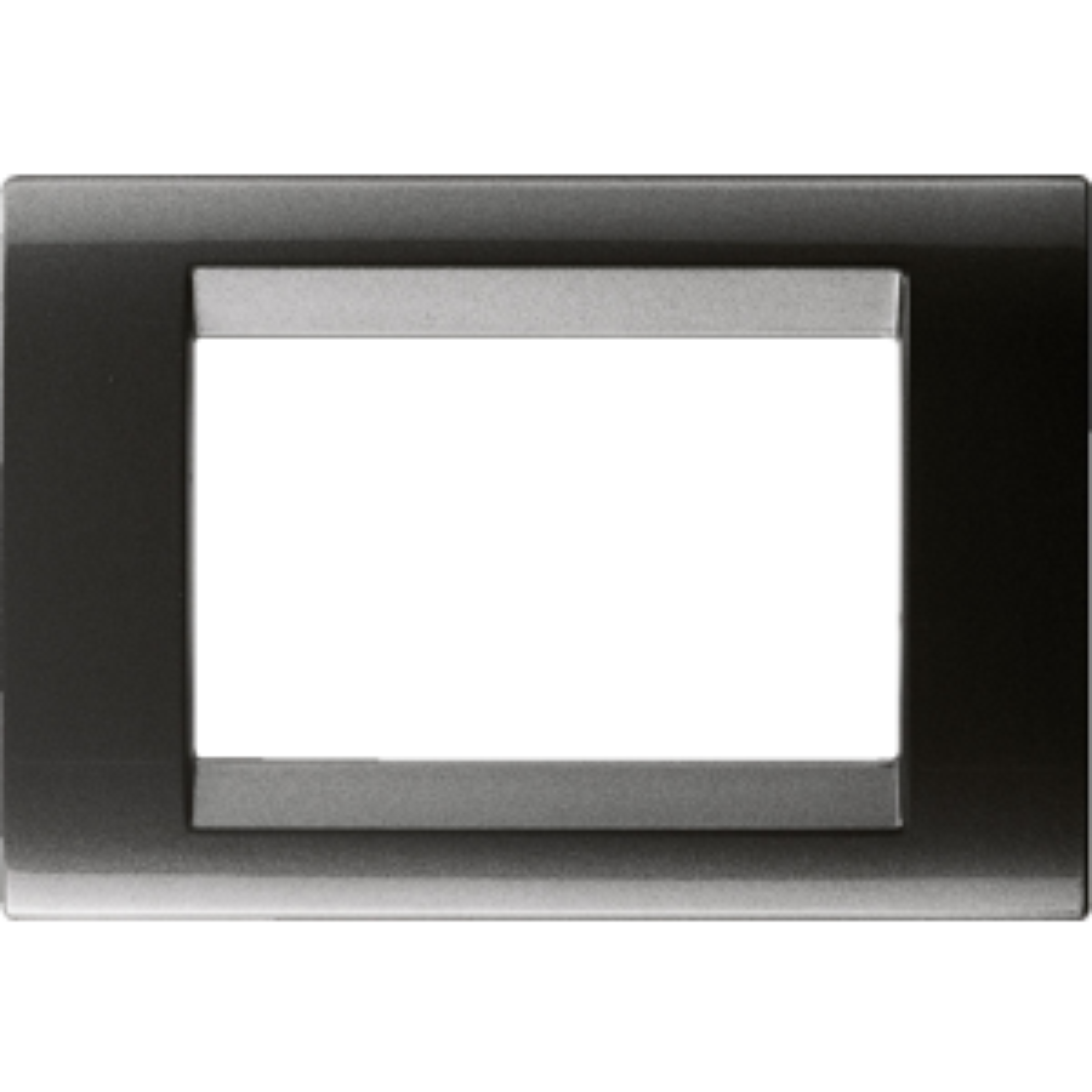 ARDESIA 6 POSTI GEWISS GW32006 PLACCA PLAYBUS IN TECNOPOLIMERO VERNICIATO