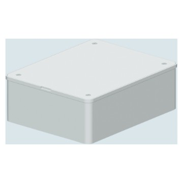 Deep lids for PT / PT DIN and PT DIN GREEN WALL boxes - White RAL 9016 - IP40