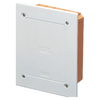 MODULAR JUNCTION AND CONNECTION BOX - FLUSH-MOUNTING - PROTECTED - DIMENSIONS 308X169X70 - SHOCKPROOF LID - IP40 - WHITE RAL9016