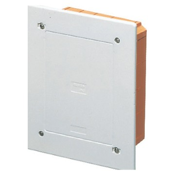 Modular, protected, flush-mounting junction and connection boxes shockproof lid - White RAL 9016