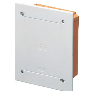 MODULAR JUNCTION AND CONNECTION BOX - FLUSH-MOUNTING - PROTECTED - DIMENSIONS 398X169X70 - SHOCKPROOF LID - IP40 - WHITE RAL9016