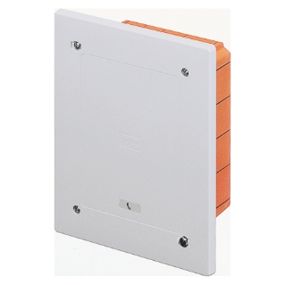 MODULAR JUNCTION AND CONNECTION BOX - FLUSH-MOUNTING - WATERTIGHT - DIMENSIONS 138X169X70 - SHOCKPROOF LID - IP55 - GREY RAL7035