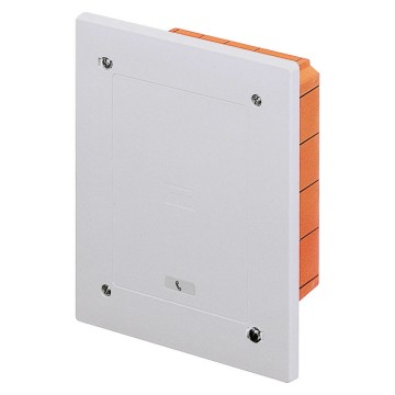 Modular, watertight, flush-mounting junction and connection boxes shockproof lid - Grey RAL 7035