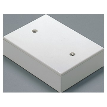 Deep lids for 3-gang flush-mounting rectangular boxes to interface between wall and flush installations - IP40