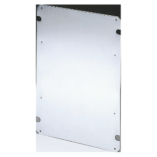 BACK-MOUNTING PLATE IN GALVANISED STEEL 396X474