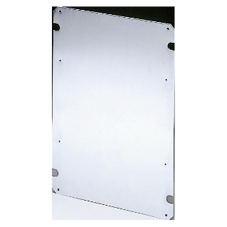 BACK-MOUNTING PLATE IN GALVANISED STEEL 316X396