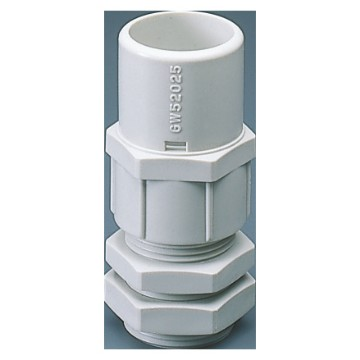 Nylon cable glands - PG pitch with housing for rigid conduit - grey RAL 7035 - IP66