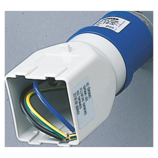 SYSTEM ADAPTOR - FROM INDUSTRIAL TO DOMESTIC - SOCKET-OUTLET 2P+E 16A 230V ac 50/60HZ - FITTING FOR 2 MODULE SYSTEM RANGE