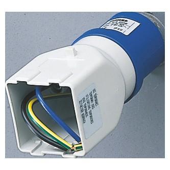 1b4688bac7 System adaptors  IEC 309 IP44 plug for Fitting for 2 module System range -  50