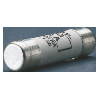 CYLINDRICAL FUSE - TYPE GG - 10,3X38MM 500V 6A