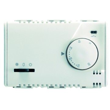 Electronic summer/winter thermostat with knob adjustment and indicator led - 230V - 50/60Hz