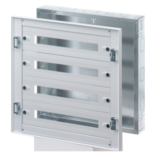 CVX DISTRIBUTION BOARD 160I - FLUSH-MOUNTING - 600x1000x105 - 144(24x6) MODULES - IP30 - WITHOUT DOOR - GREY RAL7035