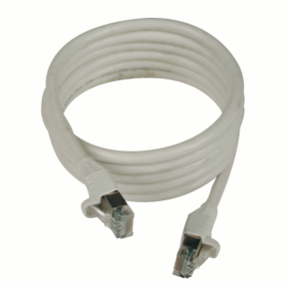 RJ45-RJ45 PATCH-CORDS - 4 - SHIELDED - CATEGORY 5e FTP 24 AWG - CABLE: 2m - GREY