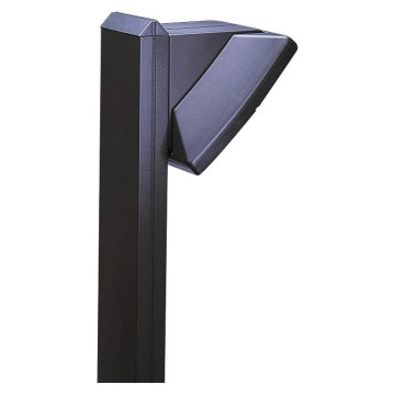 Single luminaires support column