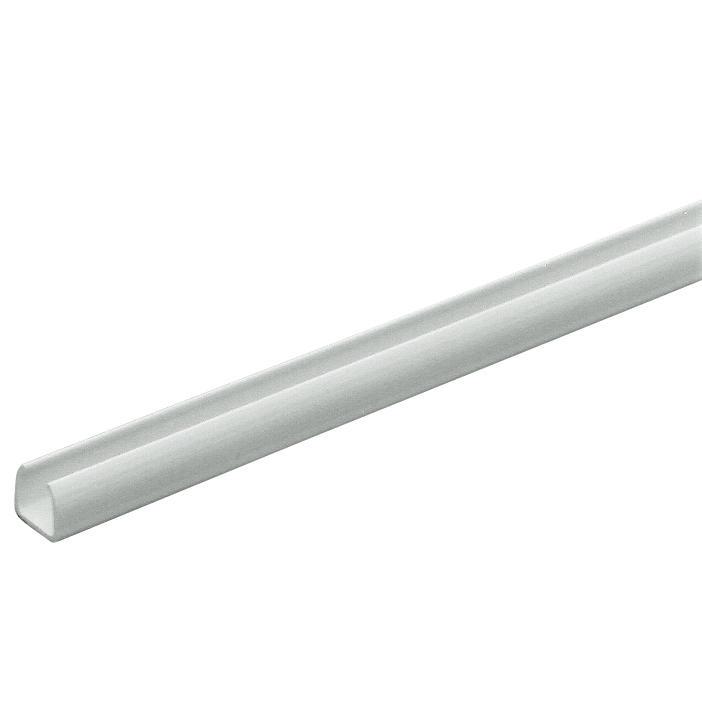 MINI S - KABELKANAL OHNE ABDECKUNG - 8x6 - TRANSPARENT   Gewiss