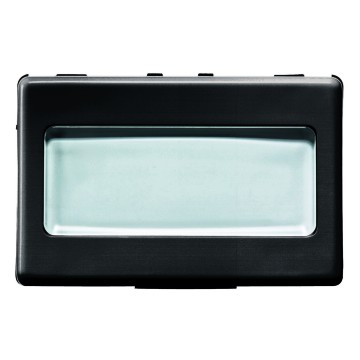 Push-button with illuminable name plate - 250V ac