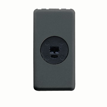 Signal socket-outlet for phonic circuits