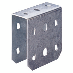 DOUBLE FLANGE FOR 40-TYPE CEILING FIXING - FINISHING: Z 275