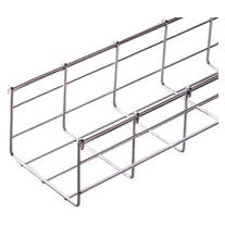 GALVANIZED WIRE MESH CABLE TRAY BFR110 - LENGTH 3 METERS - WIDTH 500MM - FINISHING: EZ