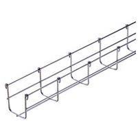 GALVANIZED WIRE MESH CABLE TRAY BFR30 - LENGTH 3 METERS - WIDTH 200MM - FINISHING: HDG
