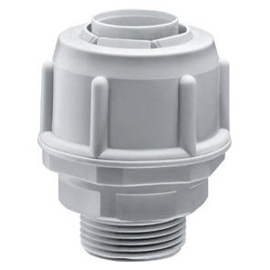 Straight, fixed coupling device - Metric pitch - IP54