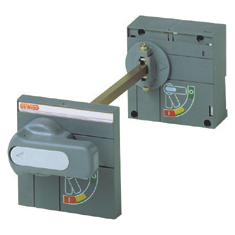 CONTROL WITH ROTARY SHAFT EXTENDED HANDLE - FOR MTX/E/M 320-630 - ON DOOR - FOR WITHDRAWABLE MOULDED CASE CIRCUIT BREAKER