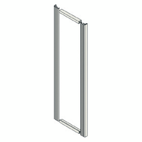 FRONT FINISHING PROFILES FOR BOARDS WITHOUT DOOR IP31/41 - CVX 1600 - HORIZONTAL - SINGLE W=400