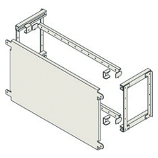 FLAT BACK-MOUNTING PLATE FOR MOUNTING NON MODULAR DEVICES - CVX 1600 - SEPARATED BOARDS - 24 MODULES - 600X600