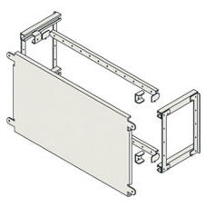 FLAT BACK-MOUNTING PLATE FOR MOUNTING NON MODULAR DEVICES - CVX 1600 - NON SEPARATED BOARDS - 24 MODULES - 600X400